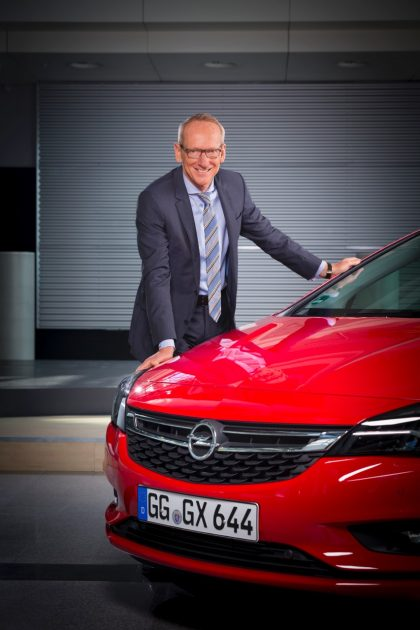 Opel CEO Karl-Thomas Neumann