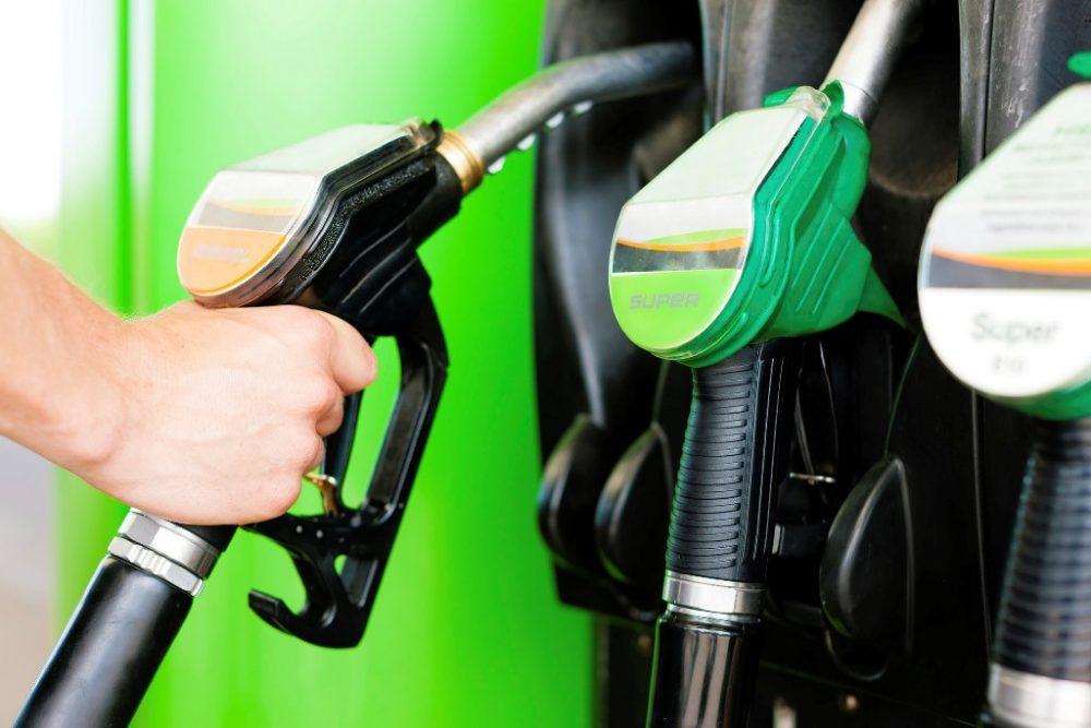 gas fuel pump dispender filling station origin history