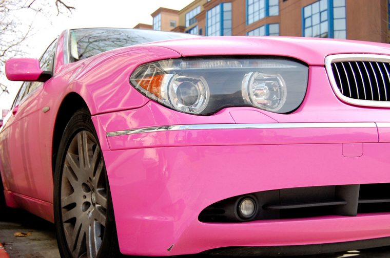 pink car color options choices vehicle