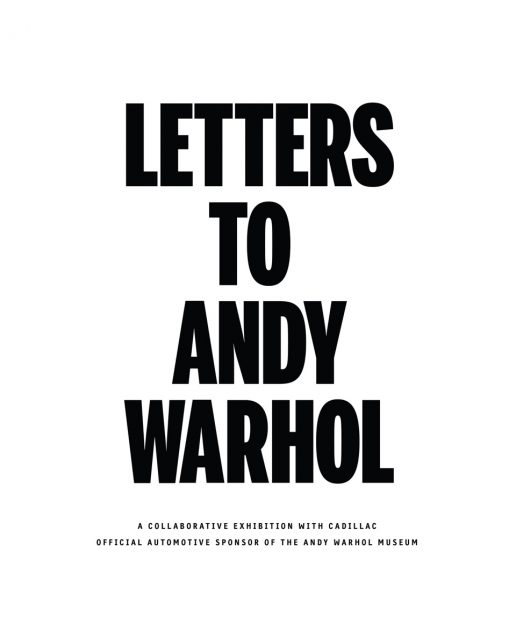 Cadillac Partners with The Andy Warhol Museum for Letters to And