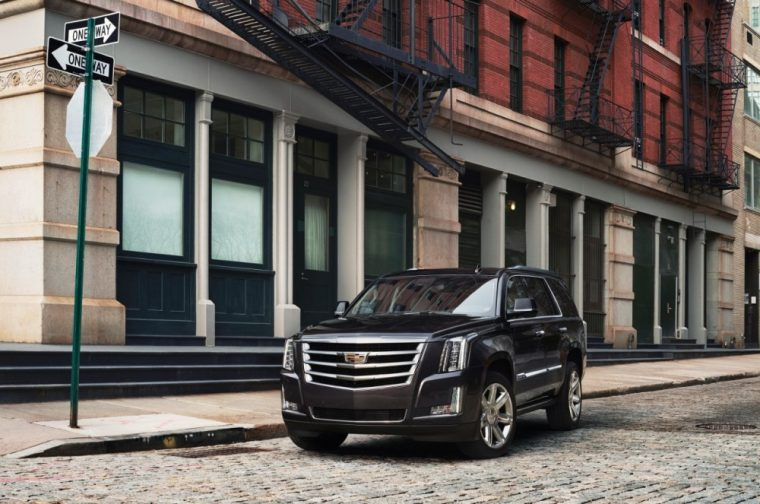 The Cadillac Escalade comes with new equipment for 2017