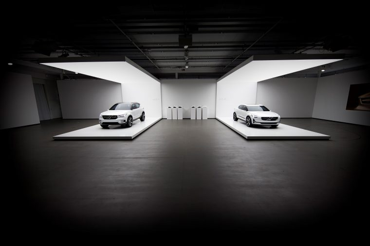 Volvo Concept 40.1 and 40.2