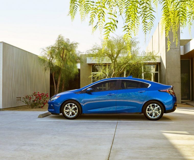 The 2017 Chevrolet Volt is one of only a few 2017 model year vehicles to have earned an IIHS Top Safety Pick+ rating