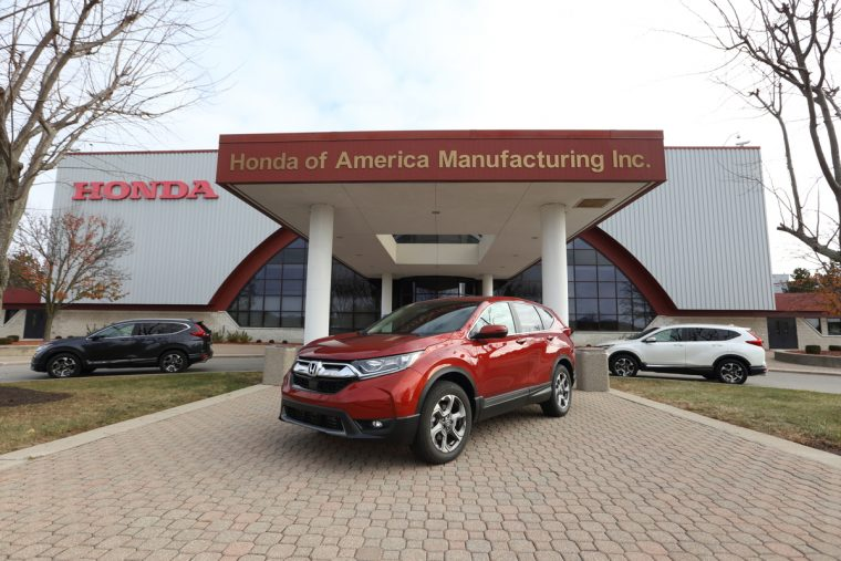 The All New 2017 Honda Cr V Will Be Produced In Three Plants