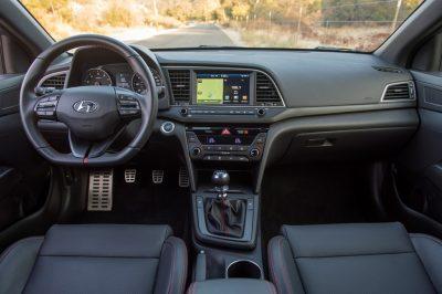 2017 Hyundia Elantra Sport pricing announcement interior cabin