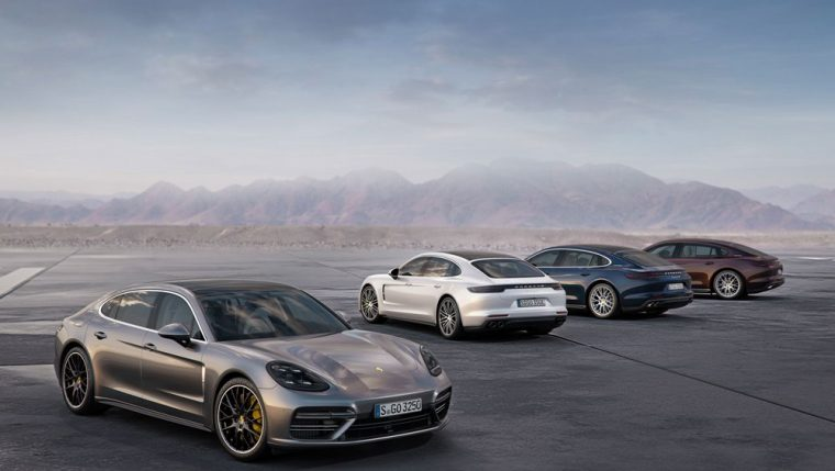 Porsche brought the Panamera Executive trim levels to the LA Auto Show