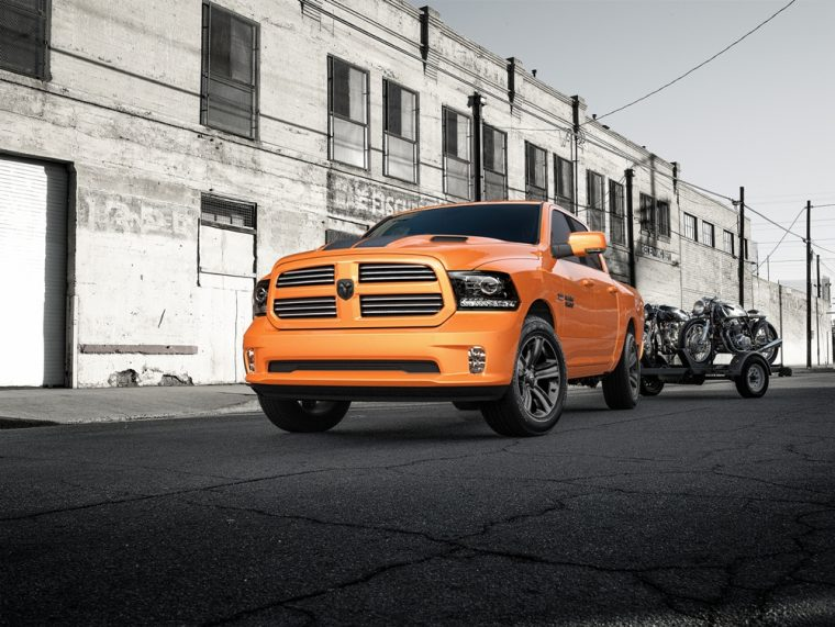Ram has recently announced the Rebel Mojave Sand and Ignition Orange Sport special editions will be available for a limited amount of time