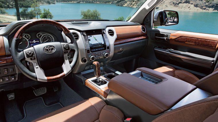 2017 Toyota Tundra Interior