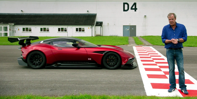 Clarkson presents the Aston Martin Vulcan