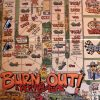 Burn Out Hot Rod Board Game Car Racing 1996 Holaday Shields board