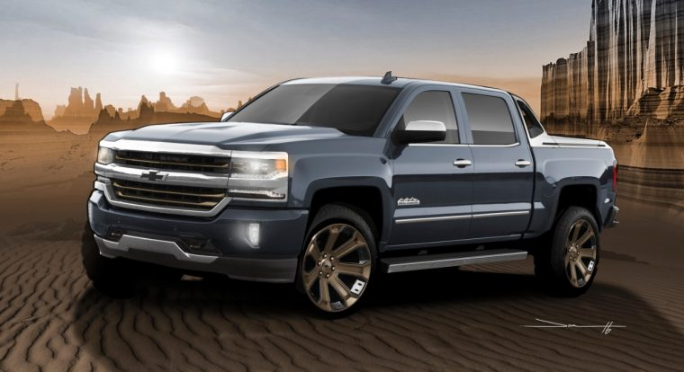 Chevy Silverado 1500 High Desert SEMA Show truck