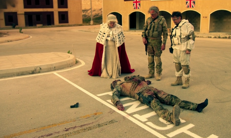 "Clarkson, Hammond, May and ""The Queen"""