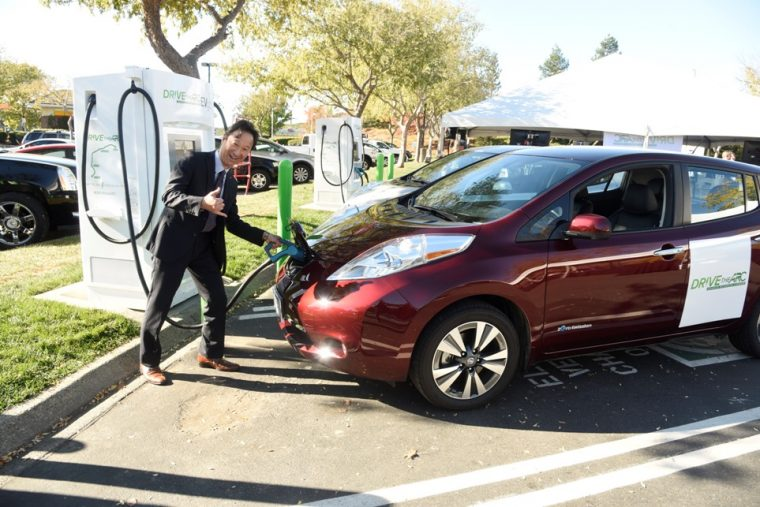 DRIVETHEARC EV fast charging corridor breaks ground in northern California