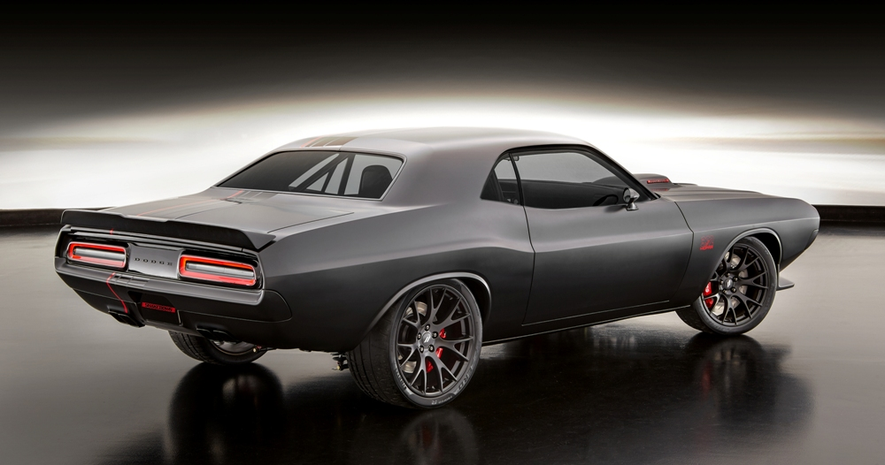 392 Hemi Scat Pack Shaker >> Shakedown Challenger is a New School Dodge in a Retro Suit - The News Wheel