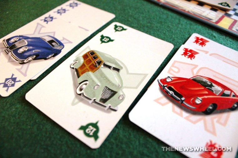 Drive card game review classic car collecting SimplyFun