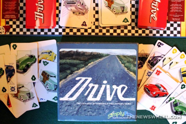 Drive card game review classic car collecting components