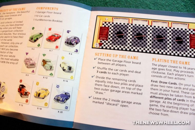 Drive card game review classic car collecting instructions
