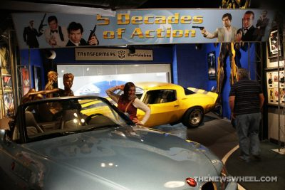 Hollywood Star Cars Museum Gatlinburg Attraction review information famous movie TV vehicles James Bond