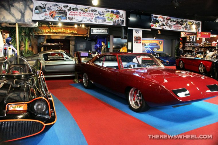 Hollywood Star Cars Museum Gatlinburg Attraction review information famous movie TV vehicles first floor