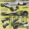 Hyundai Greenspeed Gator Concept fuel cell drag racer design schematics
