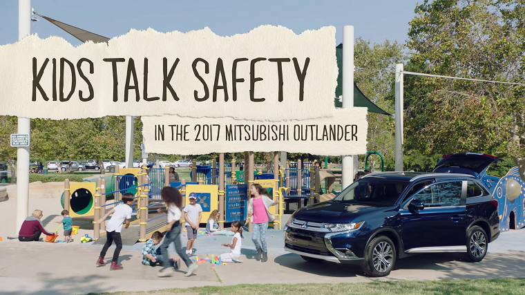 Kids Talk Safety in the 2017 Mitsubishi Outlander
