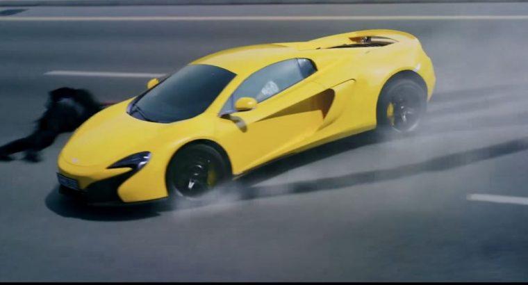 Kung Fu Yoga 2017 Movie Jackie Chan car chase McLaren