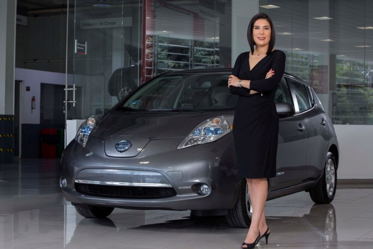 Mayra Gonzalez, President and managing director of Nissan Mexico