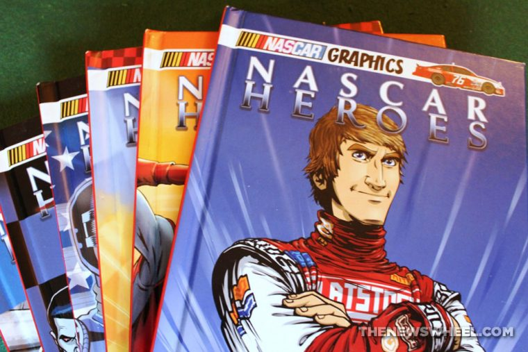 Nascar Heroes comic book graphic novel issues review covers