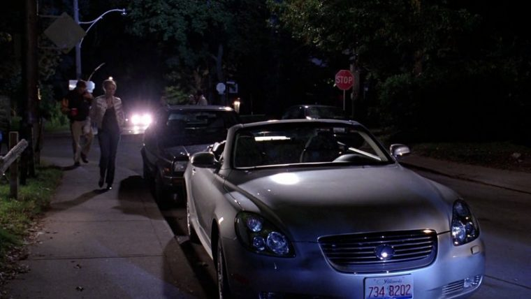 Regina George and her Lexus SC 430