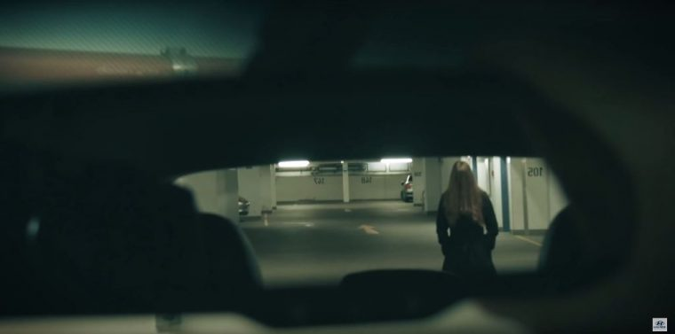 Scary Hyundai ix35 commercial Halloween horror jump scare in car woman