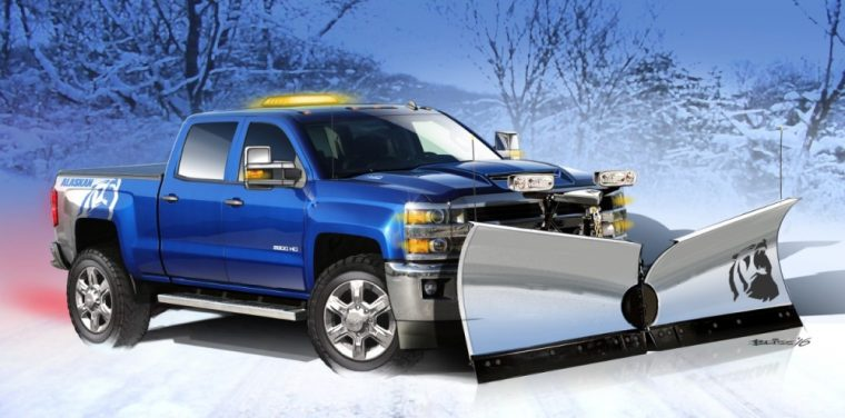 Chevrolet surprised the audience at SEMA with its Silverado 2500HD Alaskan Edition concept