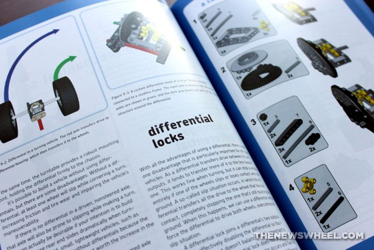 The Unofficial Lego Technic Builder's Guide Book Review Pawet Kmiec instructions