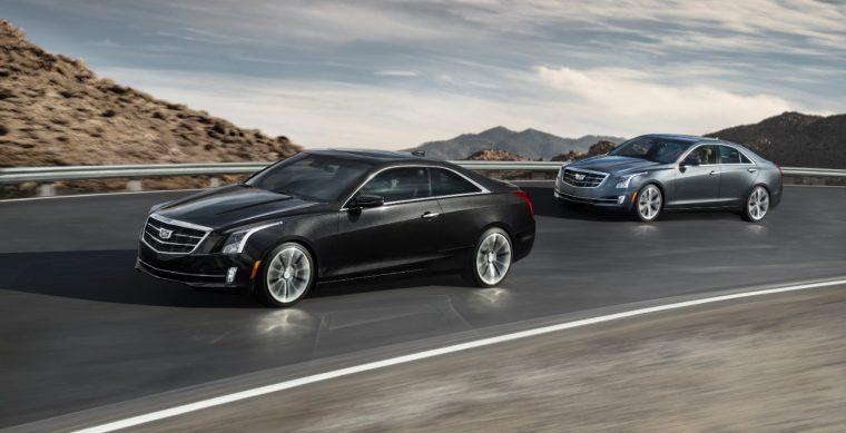 2017 Cadillac ATS Coupe and Sedan