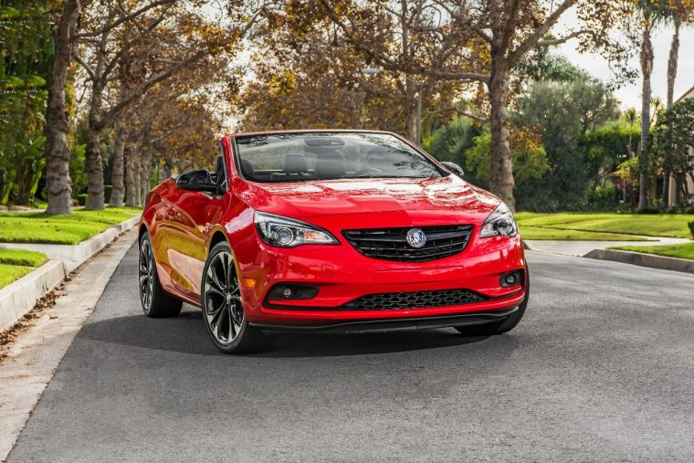 2017 Buick Cascada Sport Touring in Sport Red with Dark Effects