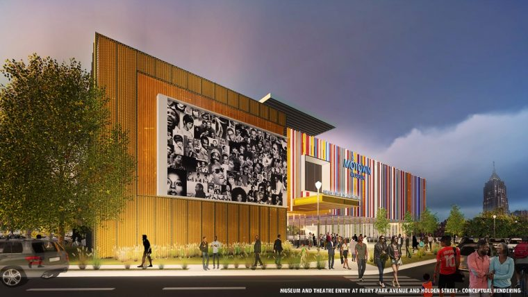 Ford Motor Company Theater at Motown Museum render