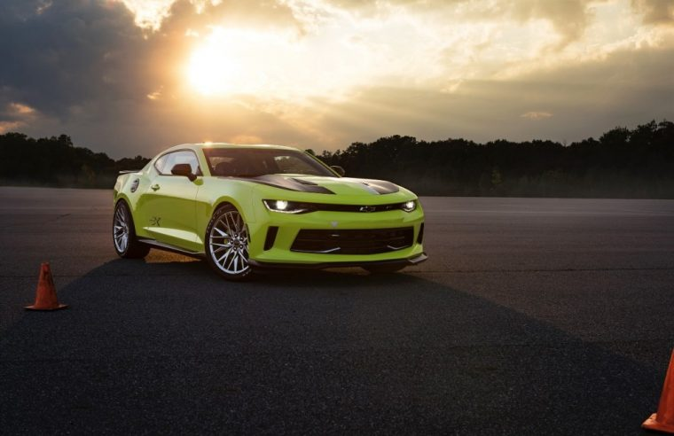 The new Camaro Turbo AutoX Concept made its debut at the 2016 SEMA show