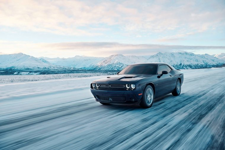 Dodge has finally revealed the all-wheel drive version of the Dodge Challenger muscle car