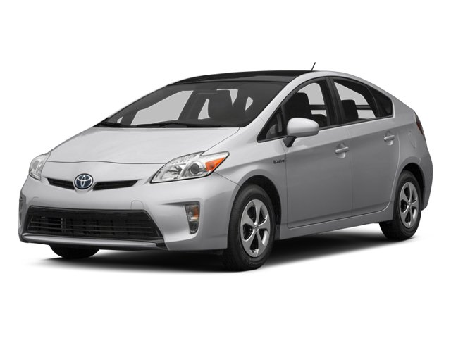 2012 Toyota Prius grey exterior car