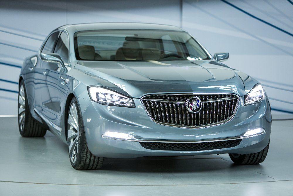 2015 Buick Avenir Concept Car