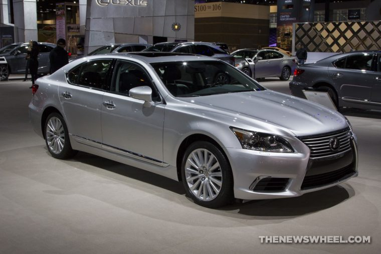 2016 Lexus LS Exterior