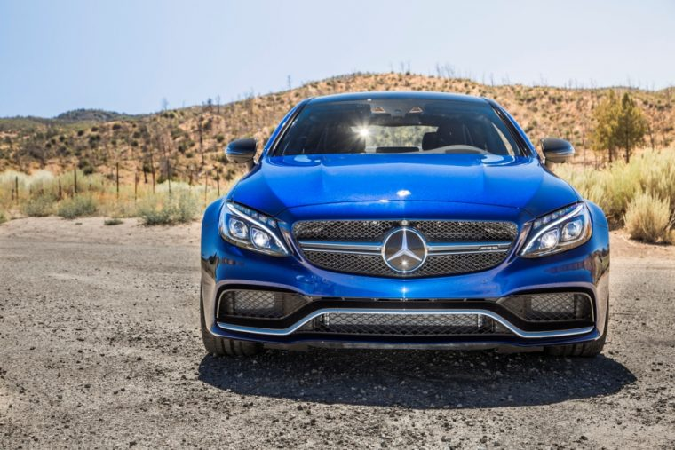 The Mercedes-Benz C-Class underwent a redesign for the 2017 model year