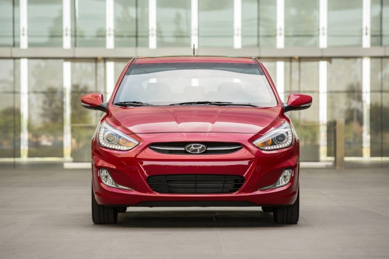 2017 Hyundai Accent overview model details features specs front grille