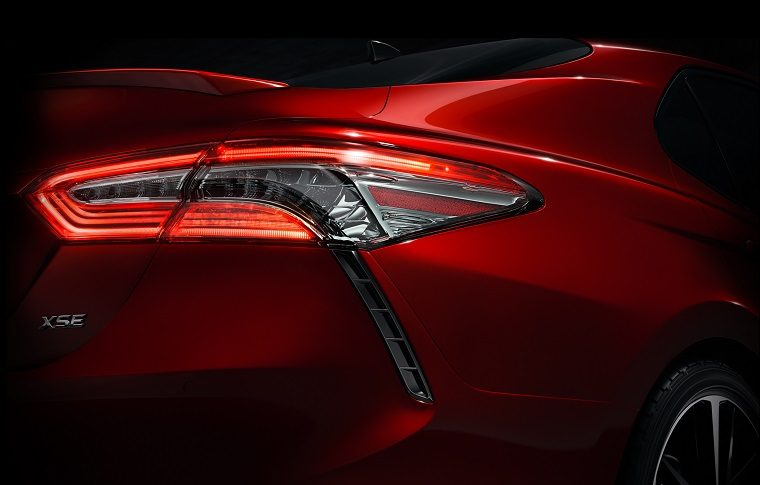 2018 Toyota Camry Teaser The Next Generation