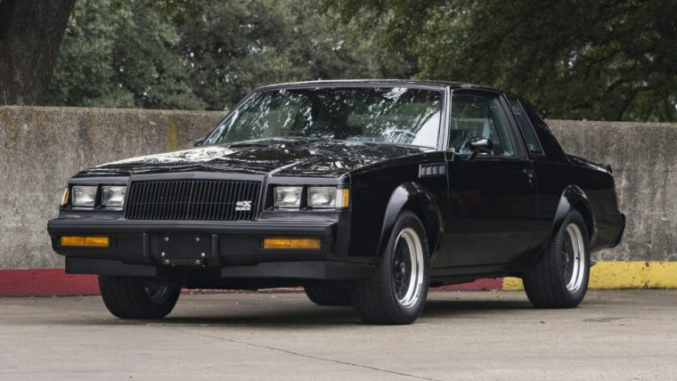 Buick GNX number 547 of 547 will be auctioned away by Mecum
