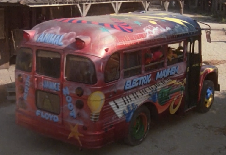 Best Muppet cars vehicles Electric Mayhem bus movie