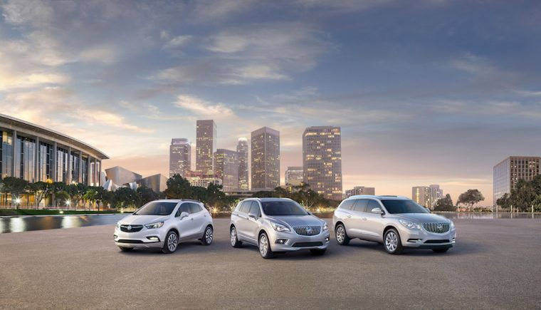 2017 Buick Advertising S Mexican Vehicle Lineup