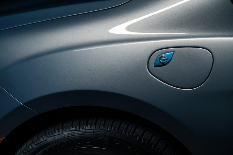 The 2017 Chrysler Pacifica Hybrid has a miles-per-gallon-equivalent (MPGe) rating of 84