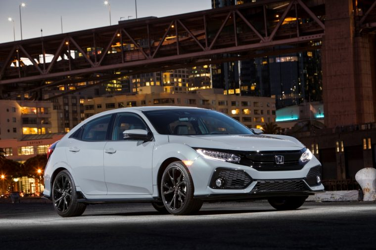 The Honda Civic Hatchback will be offered in five distinct trim levels for the 2017 model year