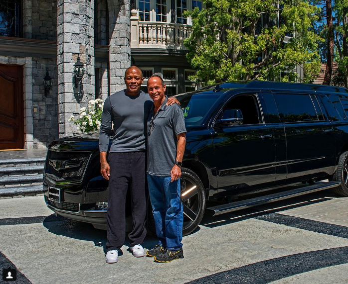 Any list of the best celebrity cars must include Dr. Dre's Stretched Escalade