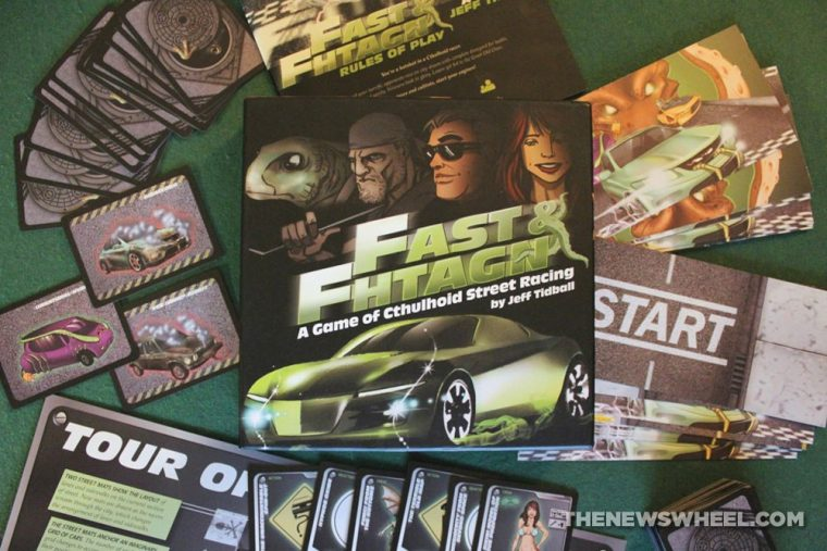 Fast and Fhtagn cthulu street racing game review Atlas Games